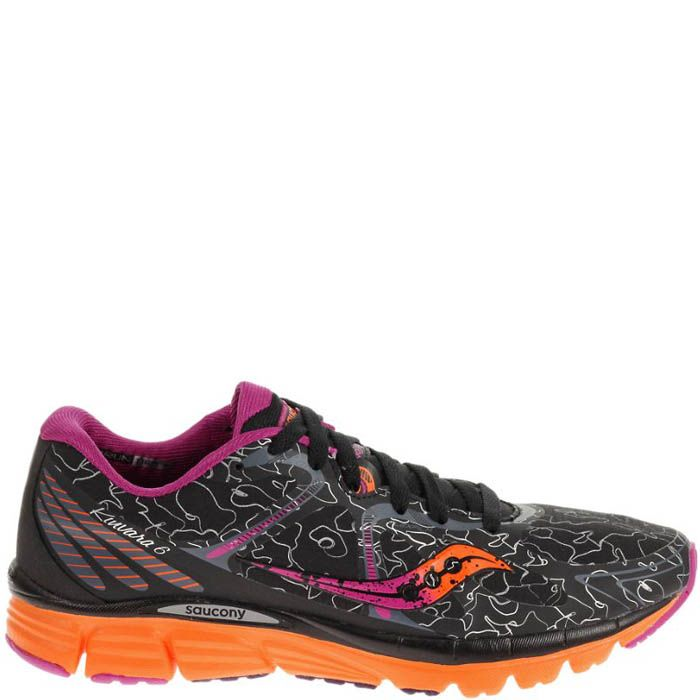 Купить Кроссовки Saucony Kinvara 6 Runshield Black Orange Purple