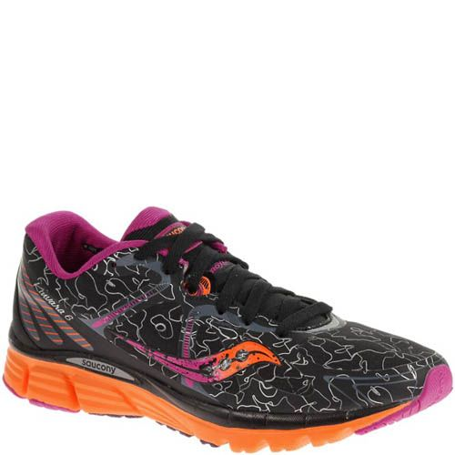 Цена Кроссовки Saucony Kinvara 6 Runshield Black Orange Purple