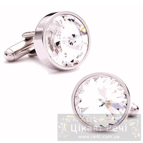 Купить Запонки Thompson of London Strobe Light SW Crystal