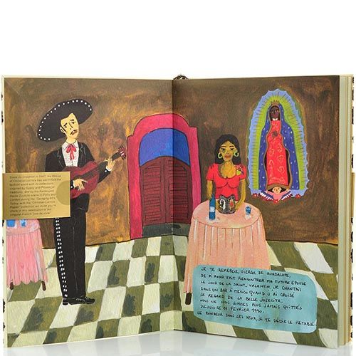 Цена Блокнот Christian Lacroix Papier City Journal Mexico А5 с лентой-закладкой