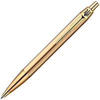 Фото – Шариковая ручка Parker IM Brushed Metal Gold GT BP 20 332g_tr