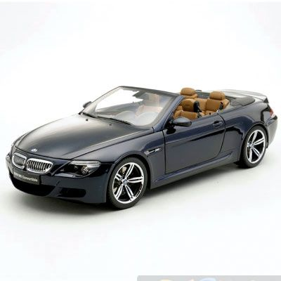 Купить BMW M6 Convertible (E63) Blue