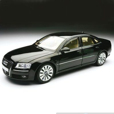 Купить Audi A8 W12 Phantom Black