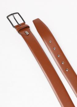 Ремень Lloyd из кожи светло-коричневого цвета, фото