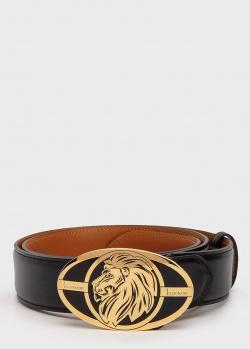 Мужской ремень Billionaire с изображением льва, фото