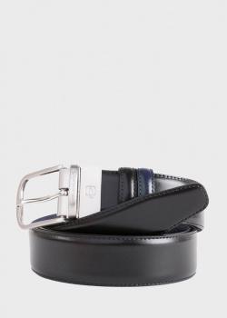 Кожаный ремень Piquadro C11  черного цвета, фото