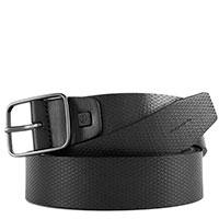 Ремень Piquadro Cintura из черной кожи, фото