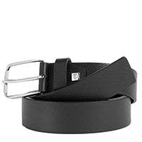 Мужской ремень Piquadro Cintura черный, фото