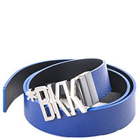 Синий ремень Bikkembergs из кожи, фото