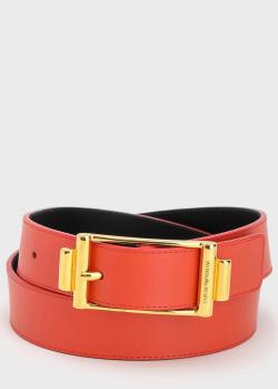 Ремень Emporio Armani красного цвета, фото