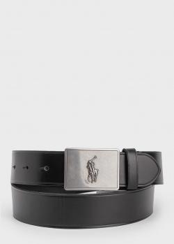 Мужской ремень Polo Ralph Lauren из гладкой кожи, фото