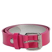 Розовый ремень Tosca Blu с серебряной пряжкой, фото
