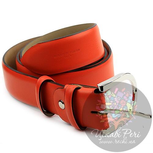 Ремень женский Giorgio Fedon оранжевый, фото