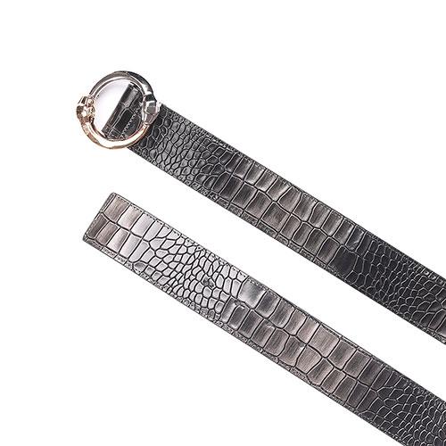 Ремень Cavalli Class Belts с пряжкой-змеями, фото