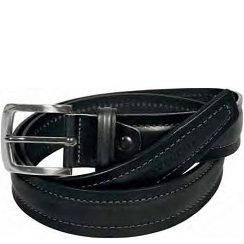 Ремень Tavecchi мужской черный кожаный классический, фото
