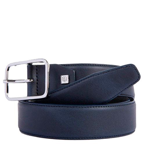 Синий ремень Piquadro Cintura из кожи, фото