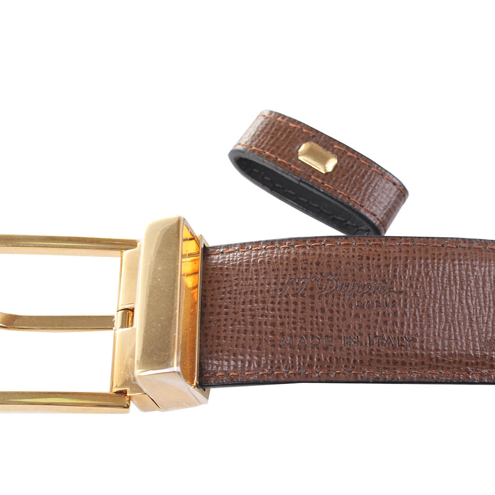 Ремень S.T.Dupont TONGUE BUCKLE DELT BOX ST