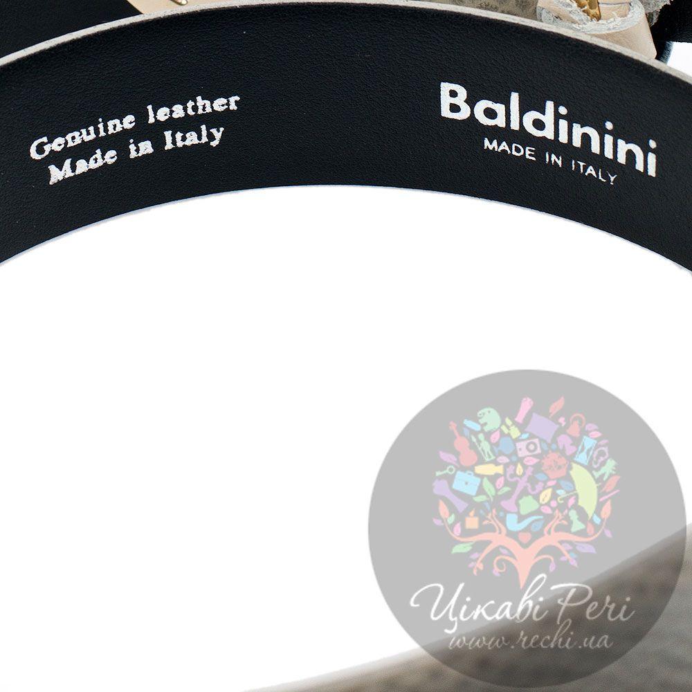 Ремень женский Baldinini цвета шампань