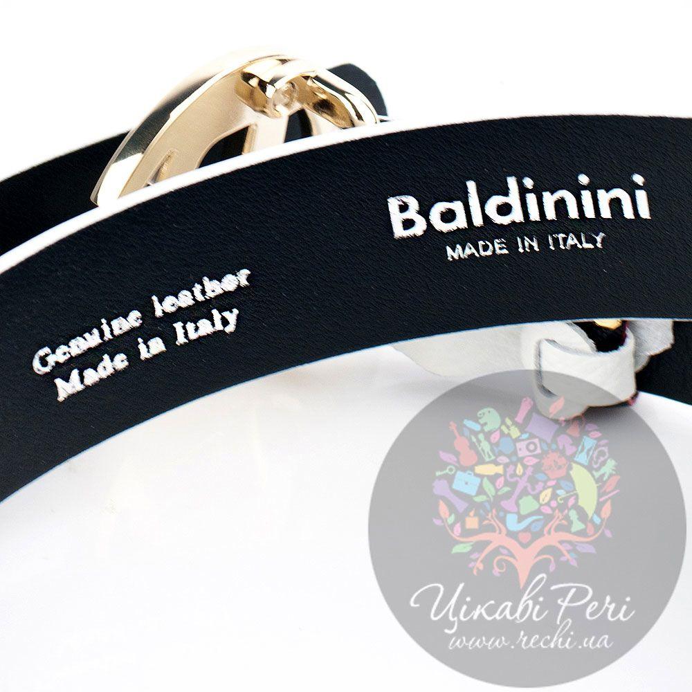Ремень женский Baldinini белый