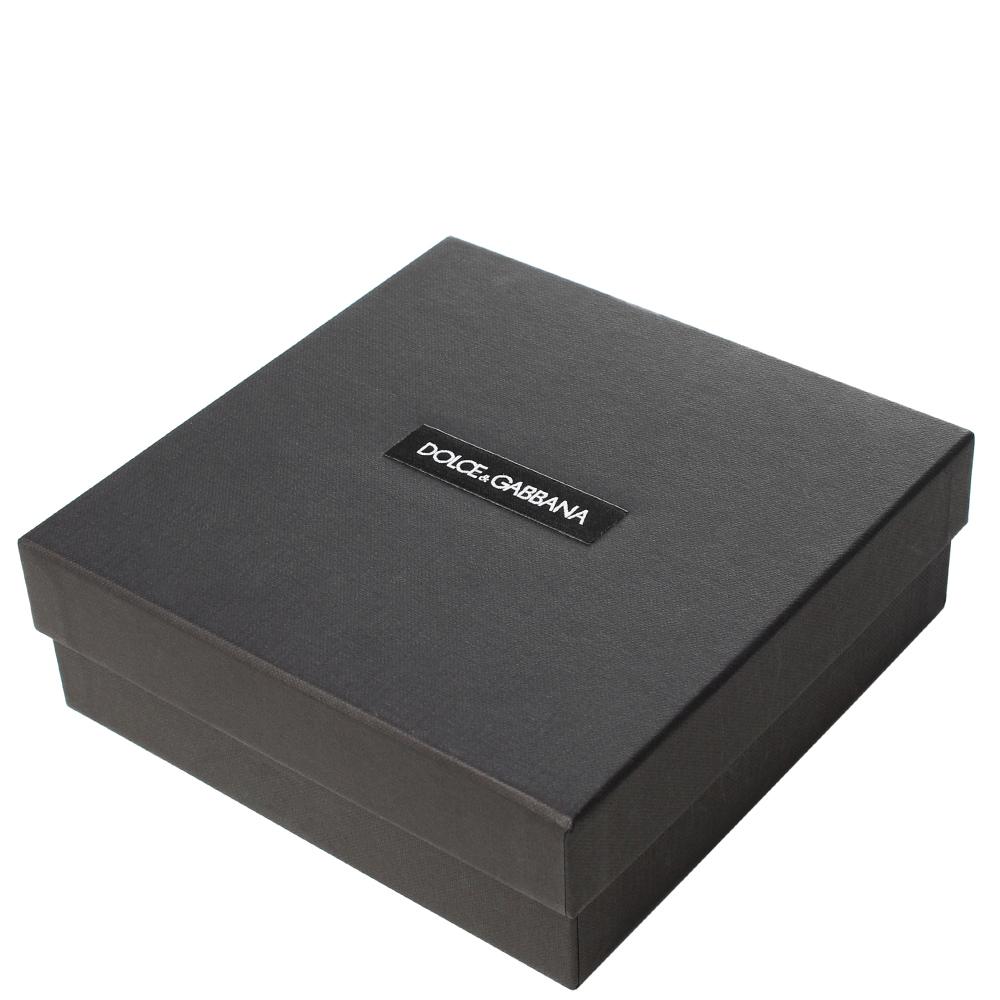 Тонкий ремень Dolce&Gabbana черного цвета