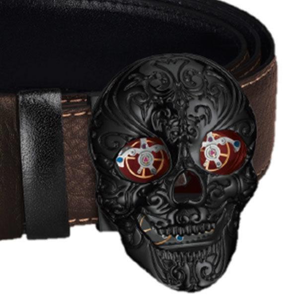 Ремень TF Est. 1968 Skull с пряжкой-черепом