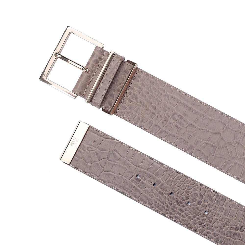 Ремень Cavalli Class Belts с фактурным тиснением