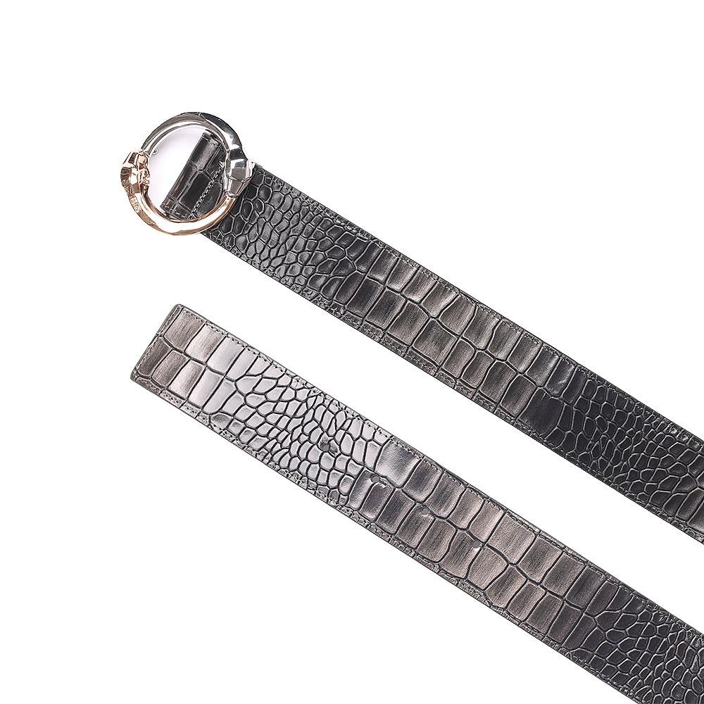 Ремень Cavalli Class Belts с пряжкой-змеями