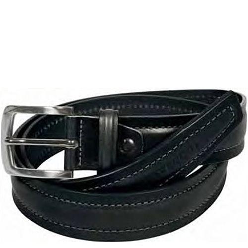Ремень Tavecchi мужской черный кожаный классический
