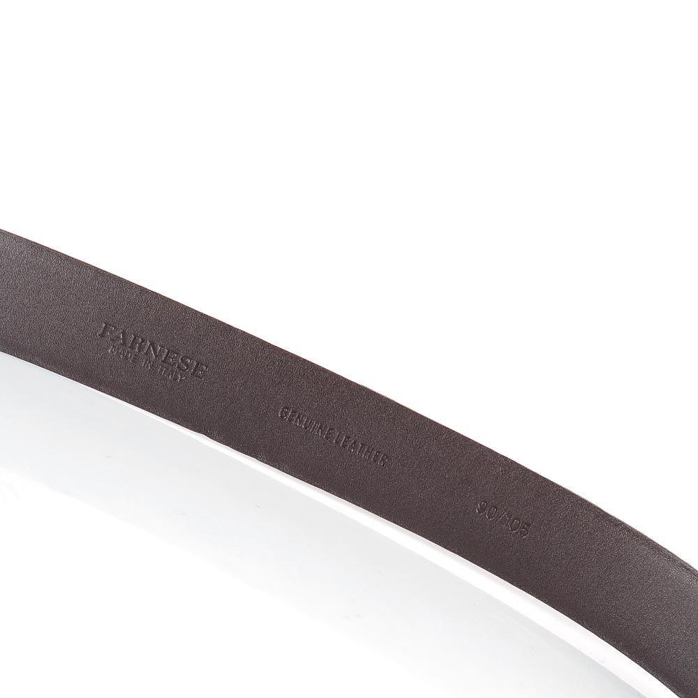 Мужской ремень Farnese коричневого цвета