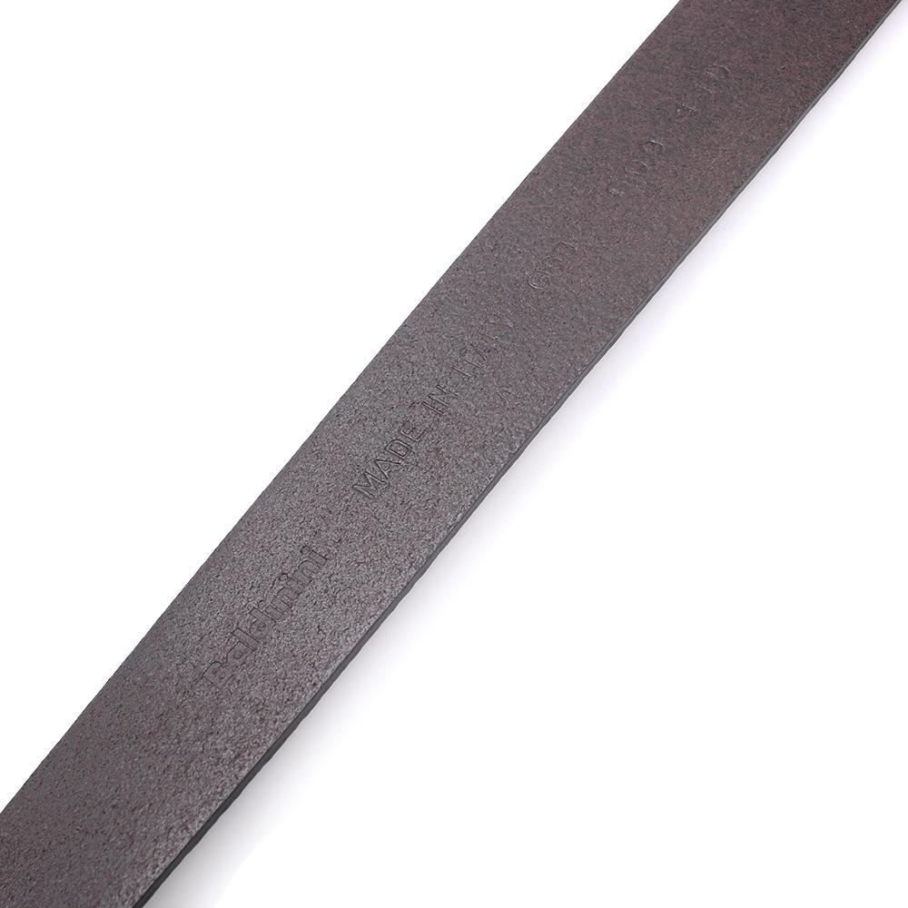 Коричневый ремень Baldinini из зернистой кожи