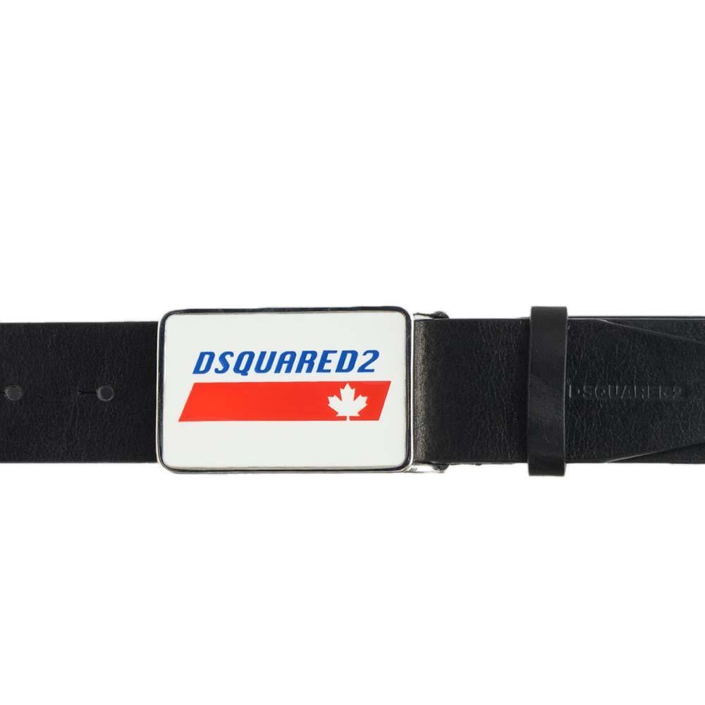 Ремень Dsquared2 с брендовой надписью