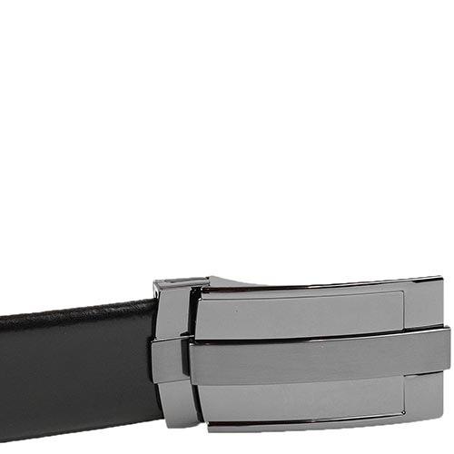 Кожаный ремень Loyd черный мужской, фото