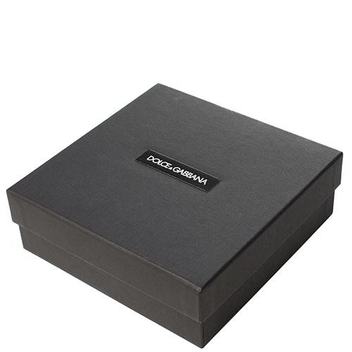 Тонкий ремень Dolce&Gabbana черного цвета, фото