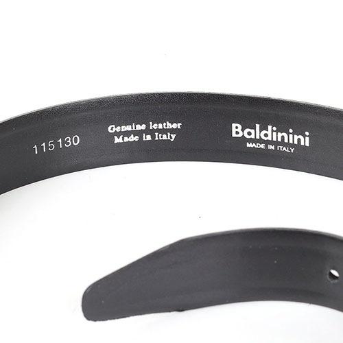 Ремень мужской черного цвета Baldinini, фото