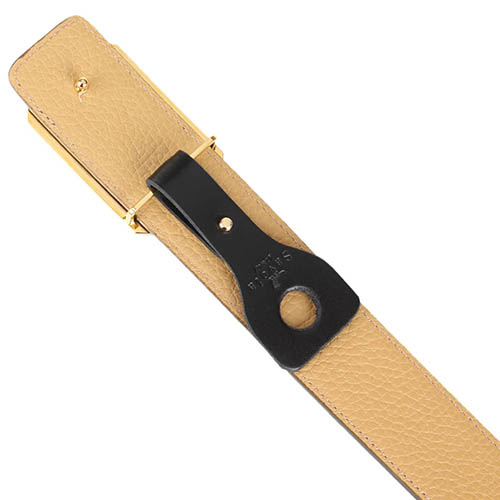 Мужской коричневый ремень Savoia из натуральной крупнозернистой кожи, фото