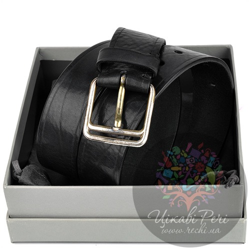 Ремень Tom Ford мужской черный кожаный, фото