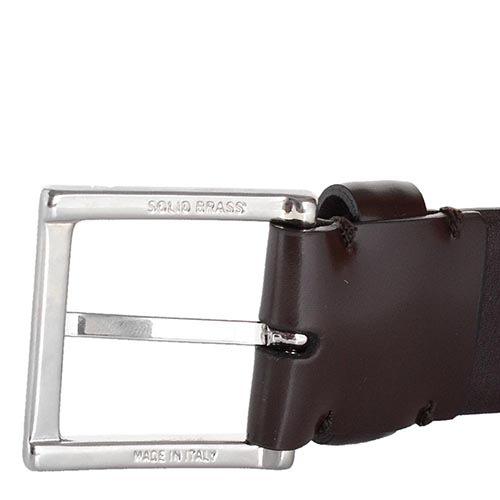 Ремень Farnese кожаный коричневый, фото