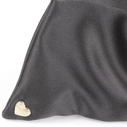 Текстильный женский ремень Twin-Set черного цвета, фото