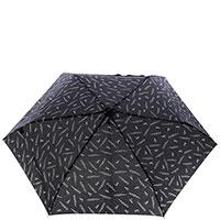 Женский механический зонт Ferre черного цвета, фото
