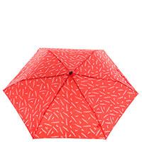 Женский механический зонт Ferre красного цвета, фото