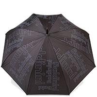 Мужской зонт-трость Baldinini черного цвета, фото