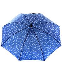 Женский зонт-трость Ferre синего цвета, фото
