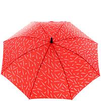 Женский зонт-трость Ferre красного цвета, фото