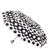 Зонт-автомат Baldinini бежевого цвета в горох, фото