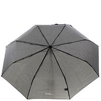 Мужской зонт-автомат Ferre серого цвета, фото