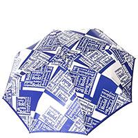 Зонт-автомат Baldinini с принтом-лого, фото