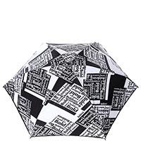 Механический зонт-мини Baldinini черно-белого цвета, фото
