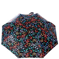 Женский зонт-автомат Baldinini черного цвета, фото