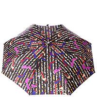 Леопардовый зонт-автомат Baldinini с системой Антиветер, фото