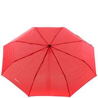 Женский зонт-автомат Ferre красного цвета, фото